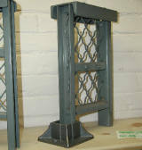 This pic shows how the cast iron floor socket is used.