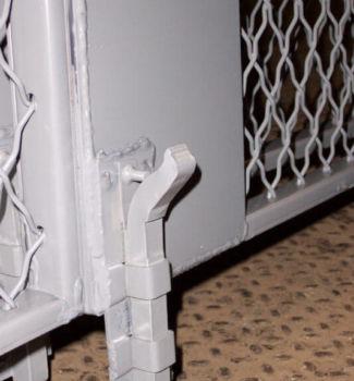 Double Swing Door Foot Bolt