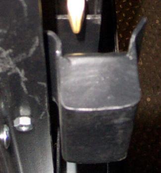 Slide Door Lock Keeper (top view)